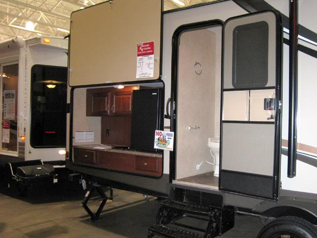 Pods tear drop campers madison rv show scenic pathways Rv room additions